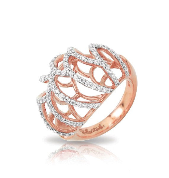 MONACO ROSE GOLD RING