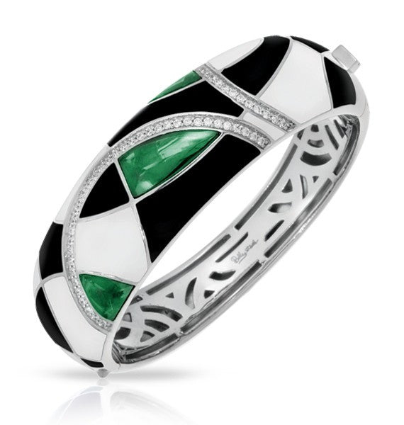 TANGO EMERALD BANGLE