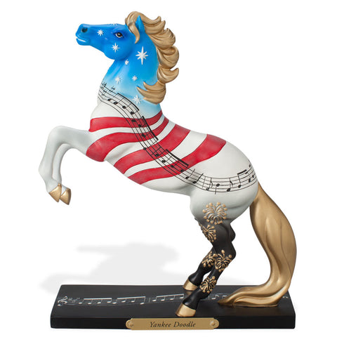 Yankee Doodle Figurine Trail of Painted Ponies