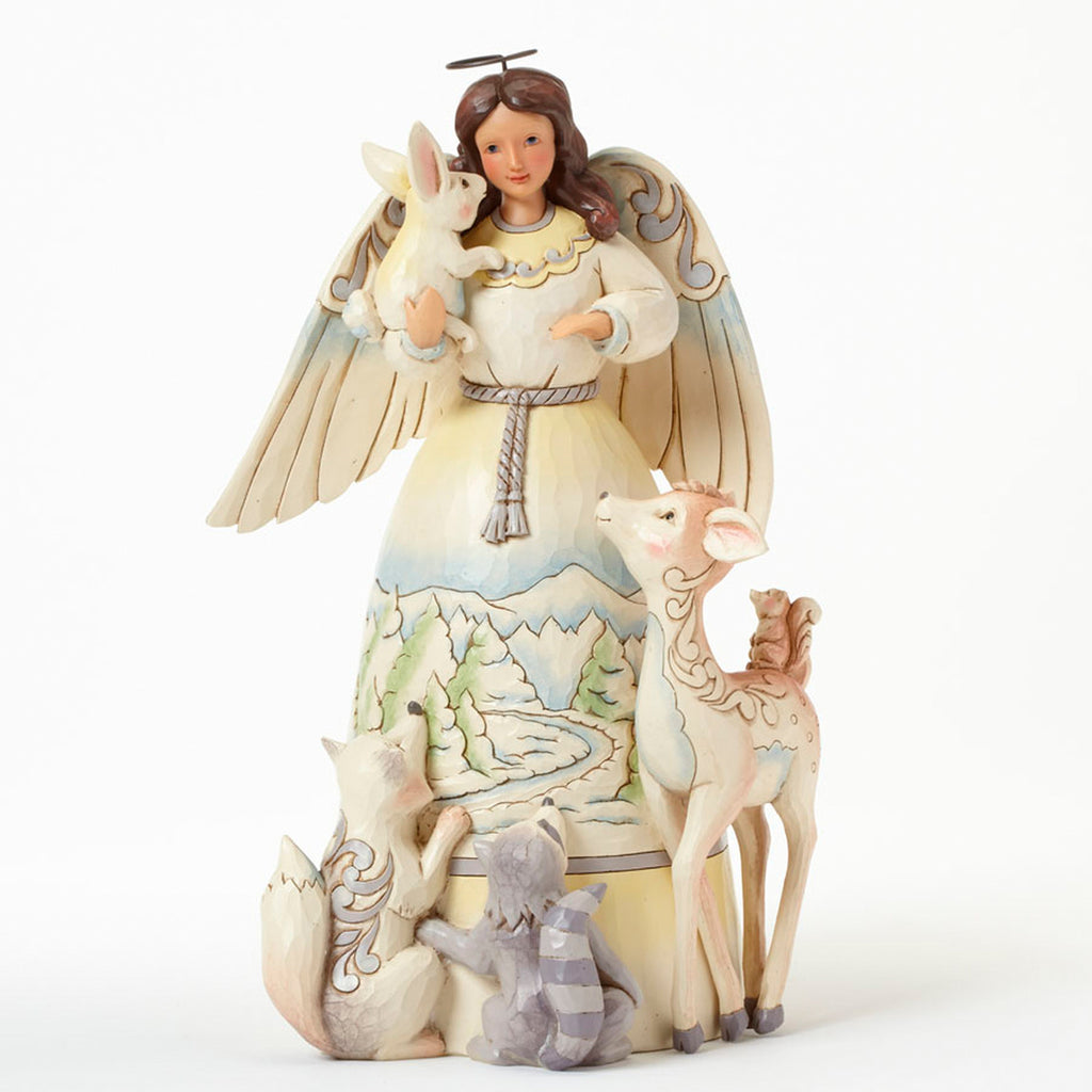 Heartwood Creek Jim Shore Woodland Angel With Animals