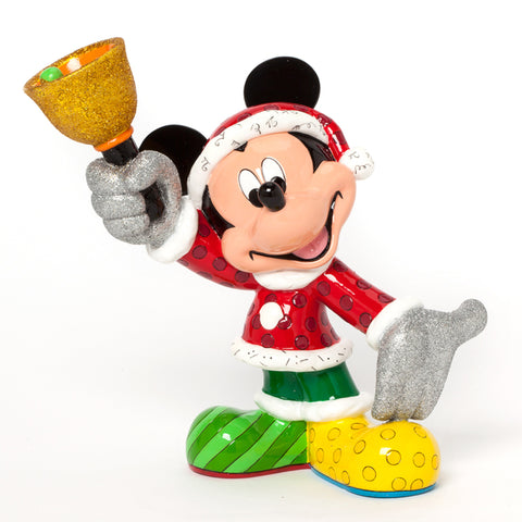Santa Mickey Disney by Britto