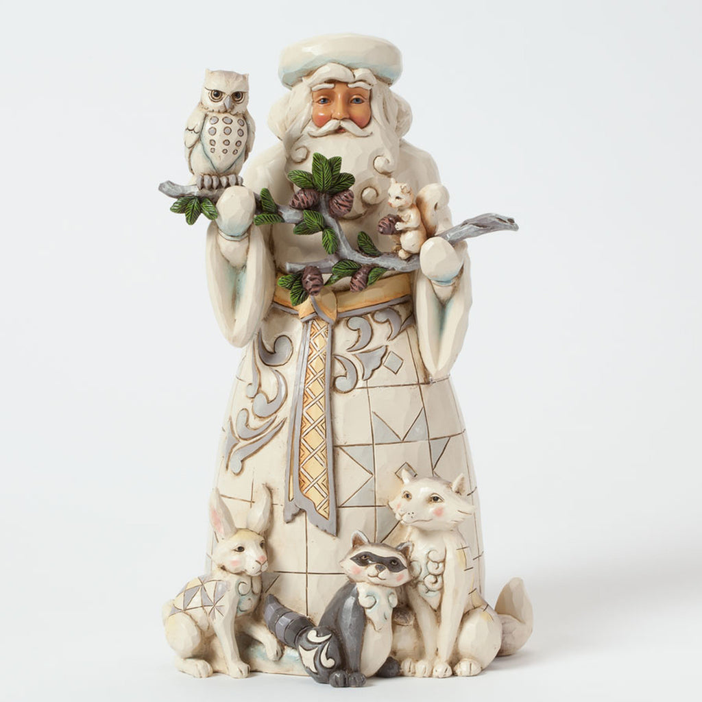 Woodland Santa with Animals Jim Shore Heartwood Creek