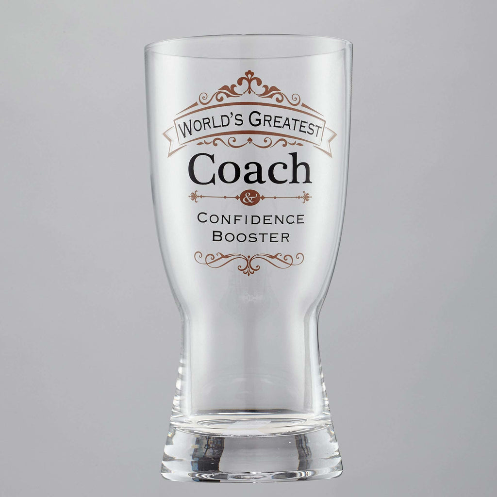 Coach Beer Glass