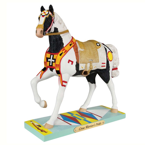 Crow Warrior's Pride Trail of Painted Ponies