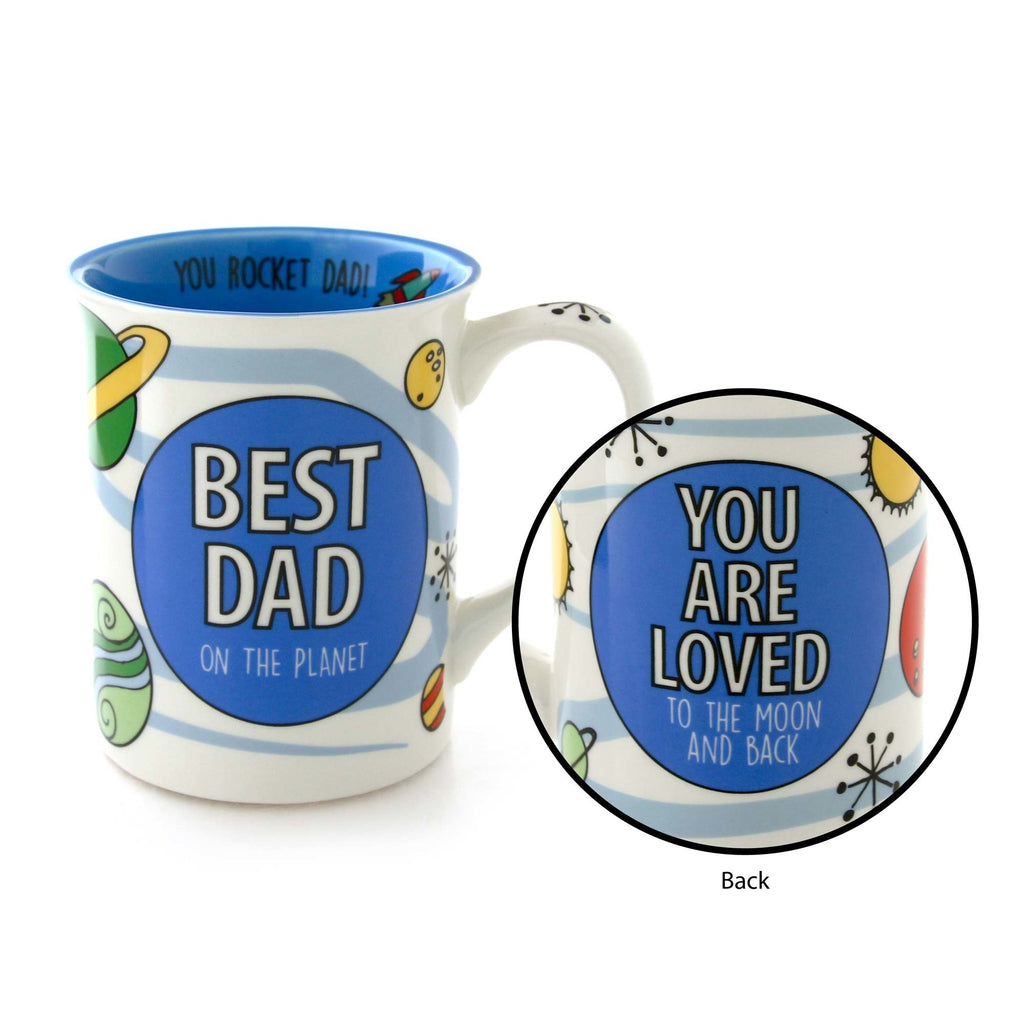 Best Dad Mug Our Name Is Mud