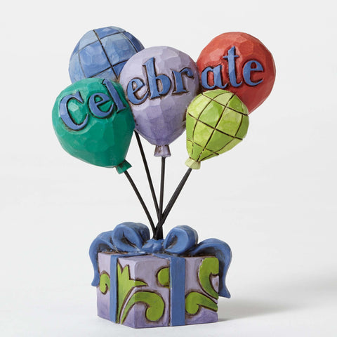 Mini Celebrate Balloons Jim Shore Heartwood Creek