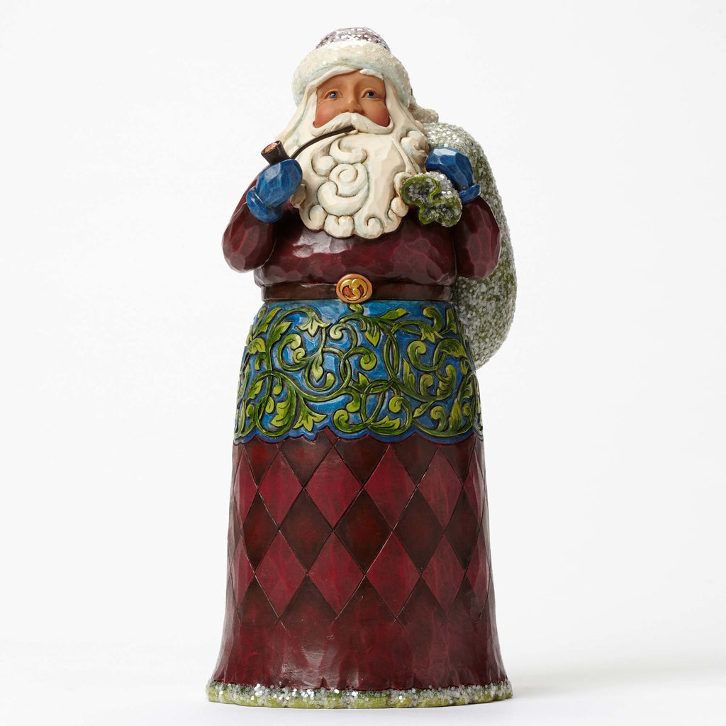 Victorian Santa with Toy Bag Jim Shore Heartwood Creek