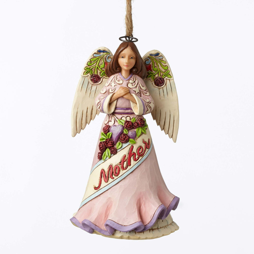 Mother Angel Ornament Jim Shore Heartwood Creek