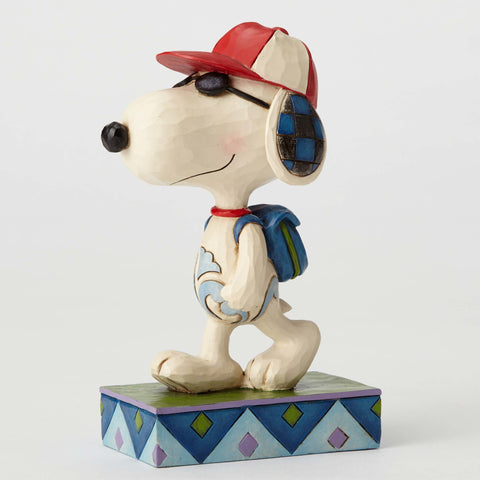 Joe Cool (Snoopy) Student Peanuts by Jim Shore