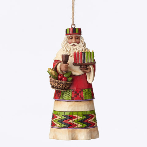 African Santa Ornament Jim Shore Heartwood Creek