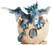 "Dragon Egg, December/Blue, 5""W"