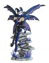 Blue And Purple Harlequins Clown