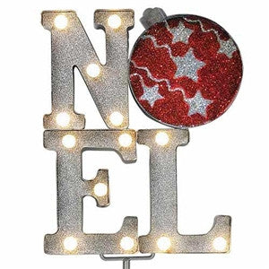 "Merry Marquee for Outdoors with Stake""NOEL"""