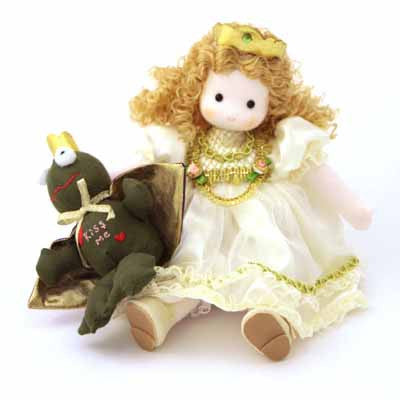 The Frog Prince Musical Doll