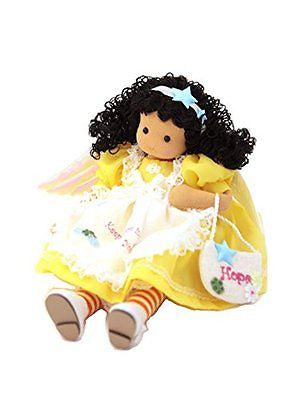 Yellow Angel of Hope Musical Doll