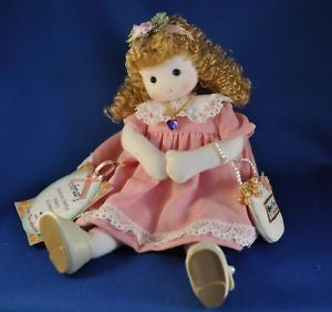 February Amethyst Birth Month Musical Doll