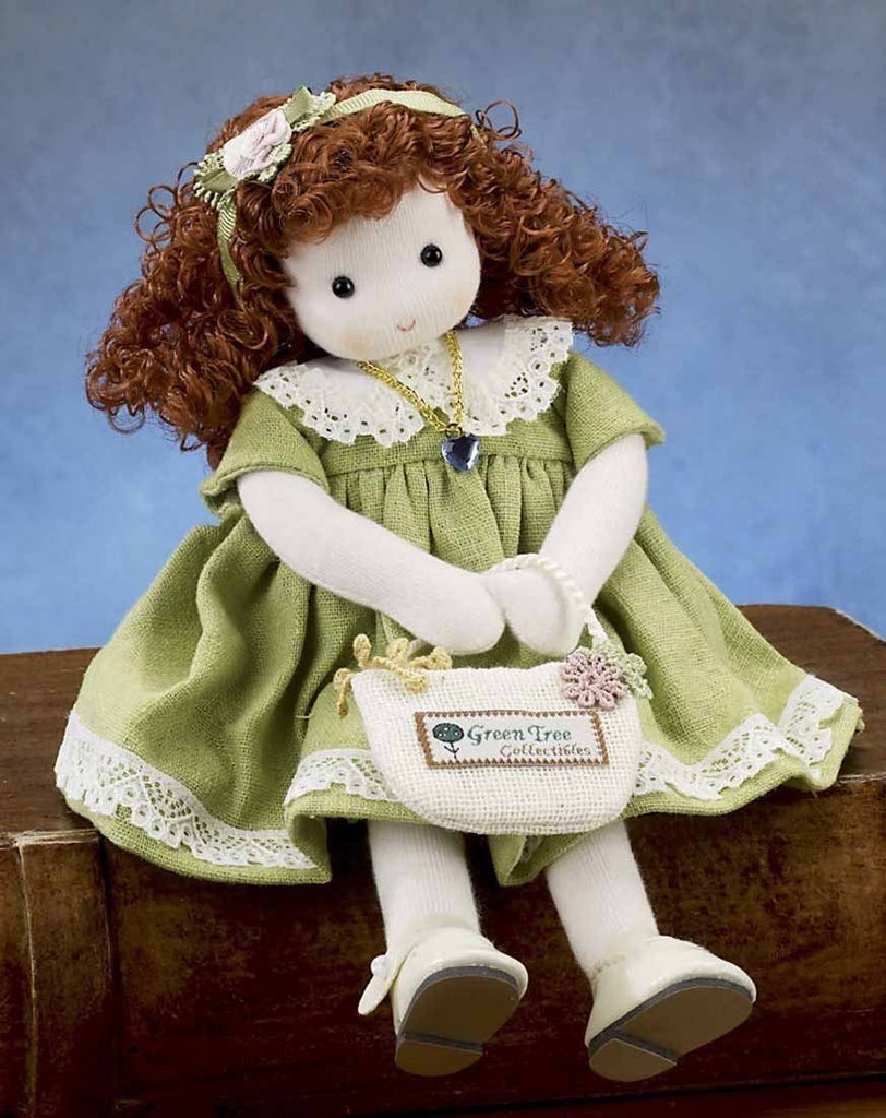 March Aquamarine Birth Month Musical Doll