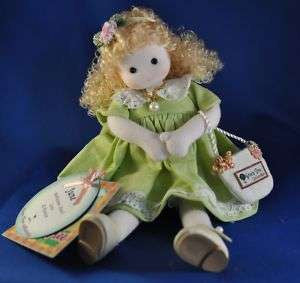 June Pearl Birth Month Musical Doll