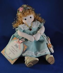July Ruby Birth Month Musical Doll