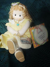 October Opal Birth Month Musical Doll
