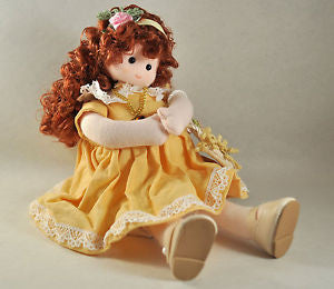 November Topaz Birth Month Musical Doll
