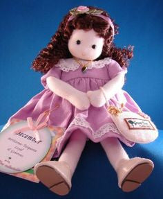 December Turquoise Birth Month Musical Doll