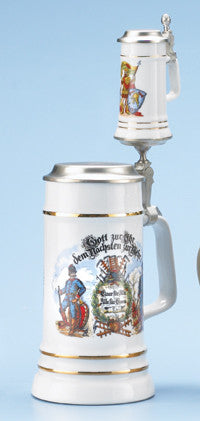 Firefighter Father & Son Stein