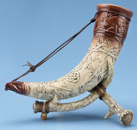 Horn Of Cuchulainn with Stand