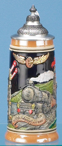 0.5L Full Speed Ahead Stoneware Stein