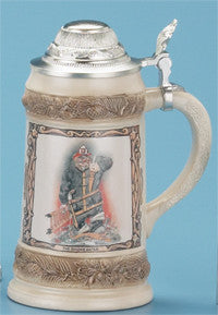 0.5L Bob Patterson Firefighter Stein