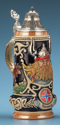 0.5L Norway Viking Stein