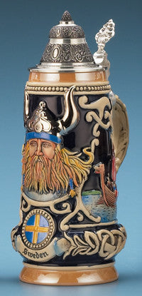 0.5L Sweden Viking Stein
