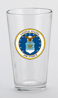 16 oz. U.S. Air Force Mixing Glass