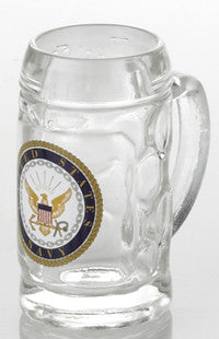 1.5 oz. U.S. Navy Mini Isar Glass Shot
