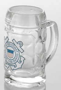 1.5 oz. U.S. Coast Guard Mini Isar Glass Shot