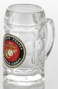 1.5 oz. U.S. Marine Corps Mini Isar Glass Shot