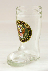 1.5 oz Army Mini Boot Glass Shot