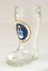 1.5 oz Air Force Mini Boot Glass Shot