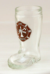 1.5 oz Mini Boot Shot with Maltese Cross