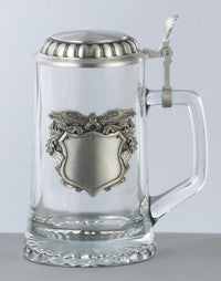 0.4L Patriotic Eagle Badge Stein
