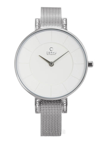 LUN - STEEL Scandinavian Designed Watch By Obaku