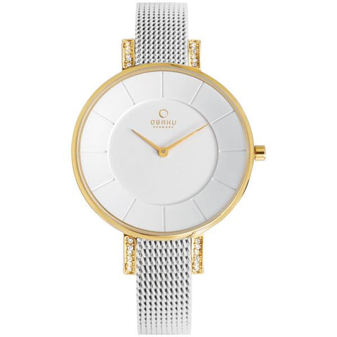 LUN - GOLD BI Scandinavian Designed Watch By Obaku
