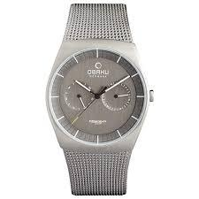 JORD - TITANIUM Scandinavian Designed Watch By Obaku