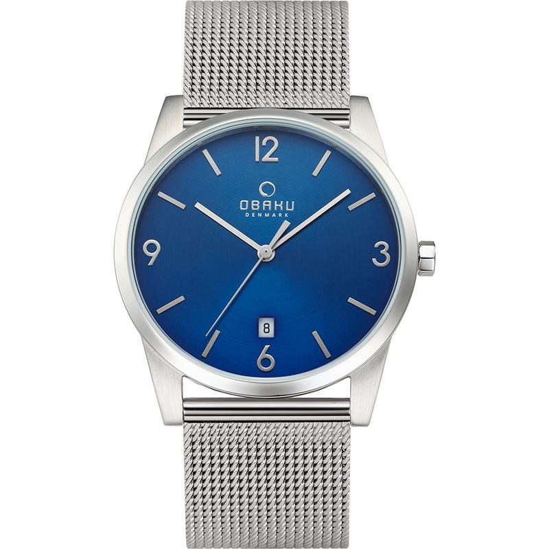 STEN - CYAN Scandinavian Designed Watch By Obaku