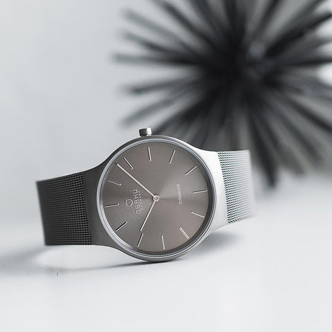ROLIG - TITANIUM Scandinavian Designed Watch By Obaku