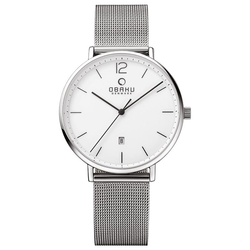 TOFT - STEEL Scandinavian Designed Watch By Obaku