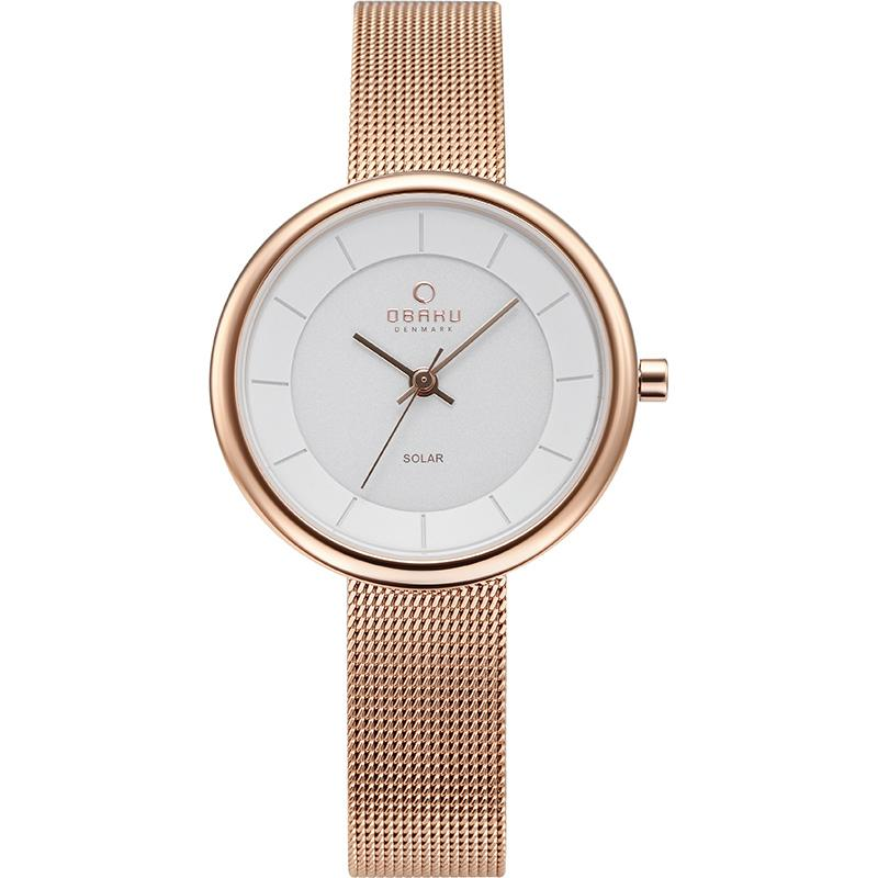 LYS - ROSE Scandinavian Designed Watch By Obaku