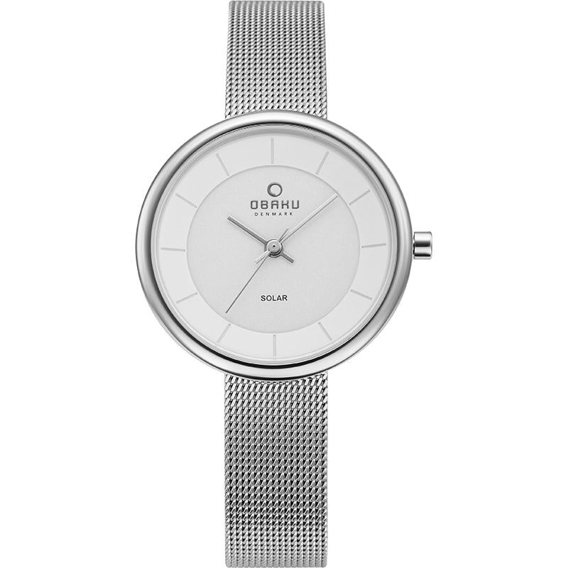 LYS - STEEL Scandinavian Designed Watch By Obaku