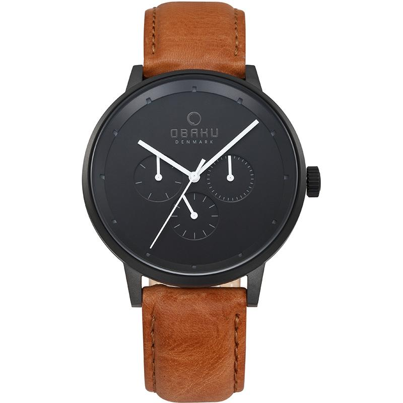 VENLIG - TAN Scandinavian Designed Watch By Obaku