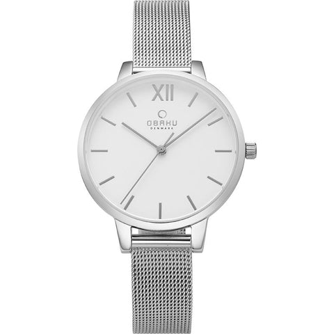 LIV - STEEL Scandinavian Designed Watch By Obaku